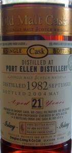 Port Ellen 21y 1982/2004 OMC 414