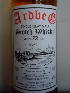 Ardbeg 22y 1974 Mellow Matured
