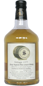 Ardmore 23 YO 1977/2000, 58.1%, Signatory, cask 1183