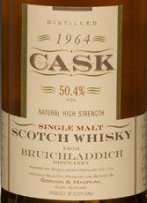 Bruichladdich 29 YO 1964, 50.4%, G&M casks 3673 & 3675
