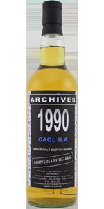 Caol Ila 22 YO 1990/2012, _56.3%, Archives, Whiskybase, Anniversary Release, bourbon hogshead #13121