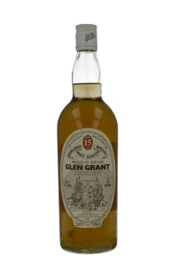 Glen Grant 15 YO 70 proof, G&M, early 1970's