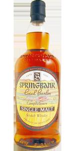 Springbank 36 YO 1965 'Local Barley', 52.1%, cask 1965/9