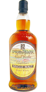 Springbank 36 YO 1965 'Local Barley', 52.1%, cask 1965/9