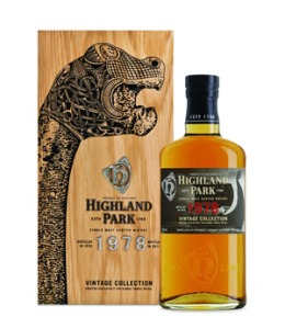 Highland Park 1978 'Vintage Collection', 47.8%, OB 2011 for Travel Retail