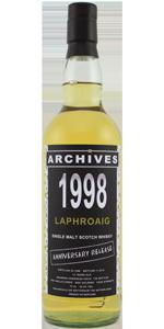 Laphroaig 14 YO 1998/2012, 53.8%, Archives, Whiskybase, Bourbon hogshead #5619