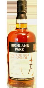 Highland Park 20 YO 1984/2004, 57.9%, OB for the German market, cask 45