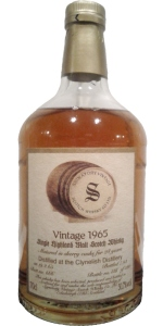 Clynelish 28 YO 1965/1993, 50.7%, Signatory, sherry butt #666