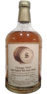 Clynelish 28 YO 1965/1993, 50.7%, Signatory, sherry butt #666