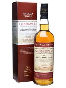 Glenmorangie 25 YO, Malaga wood finish