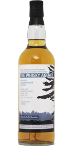 Highland Park 25 YO 1986, 52.5%, The Whisky Agency