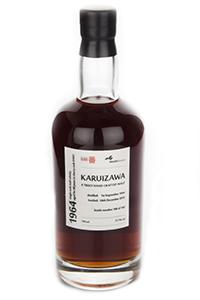 Karuizawa 1964 back label