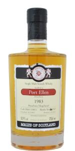 Port Ellen 28 YO 1983/2011, 58.9%, Malts of Scotland, bourbon hogshead #MoS11011