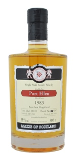 Port Ellen 28 YO 1983/2011, 58.9%, Malts of Scotland, bourbon hogshead #MoS11011