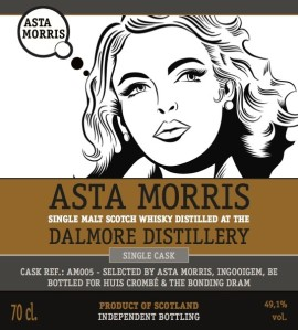 Dalmore Asta Morris for The Bonding Dram & Huis Crombé