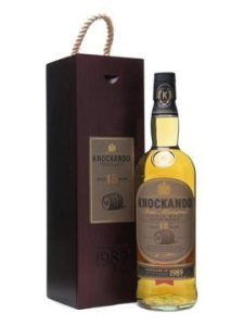 Knockando 18 YO 1989, 43%, slow matured