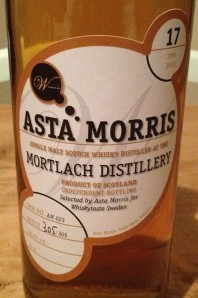 Mortlach 17 YO 1995/2013, 48.2%, Asta Morris for Whiskytaste Sweden, cask #AM023