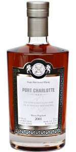 Port Charlotte 10 YO 2001/2012, 63.3%, Malts of Scotland, Islay Whisky dinner, sherry hogshead #MoS12039