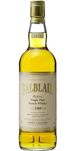 Balblair 1969/2008, 43%, G&M Rare Vintage