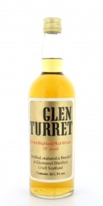Glen Turret 75 proof