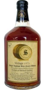 Glenlivet 25 YO 1973/1998, 57.2%, Signatory, sherry cask #3307
