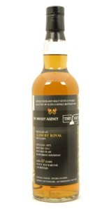 Glenury Royal 37 YO 1973/2011, 43%, The Whisky Agency & The Nectar