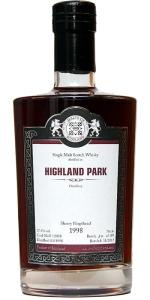 Highland Park 14 YO 1998/2012, 57.4%, Malts of Scotland, sherry hogshead #MoS12058