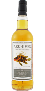 Tormore 29 YO 1984/2013, 51%, Archives 'The Fishes of Samoa', Whiskybase, cask 3669
