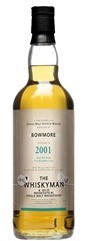 Bowmore 11 YO 2001/2012, 50.6%, The Whiskyman
