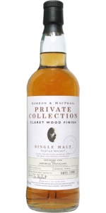 Imperial 9 YO 1990/2000, 40%, Gordon & MacPhail, Private Collection, Claret Wood finish, casks 97/304 4, 5, 6