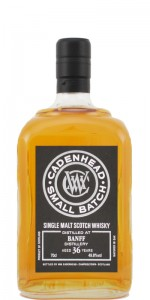 Banff 36 YO 1976/2013, 49.8%, Cadenhead small batch