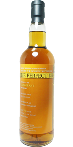 Glen Grant 39 YO 1972, 51.1%, The Perfect Dram, The Whisky Agency, sherry hogshead, 148 bottles