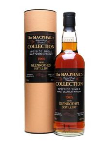 Glenrothes 1969/2010, 43%, G&M MacPhail's Collection