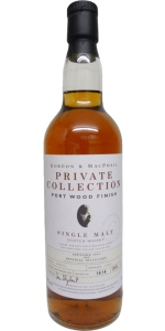 Imperial 10 YO 1991/2001, 40%, Gordon & MacPhail, Private Collection, Port Wood finish, casks 99/48