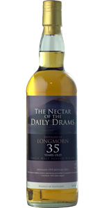 Longmorn 35 YO 1975/2011, 50.8%, The Nectar of the Daily Drams