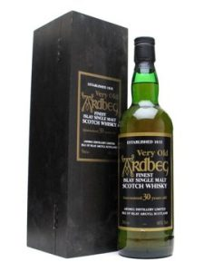 Ardbeg 30 YO 'Very Old Ardbeg,  40%,1997
