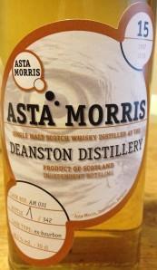 Deanston 15 YO 1997/2013, 48.1%, Asta Morris, cask AM031