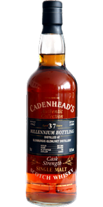 Glenburgie 37 YO 1962/2000, 51.1%, Cadenhead Authentic Collection, Millennium Bottling