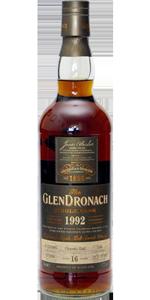 Glendronach 16 YO 1992/2009, 57.2%, OB, oloroso cask #1140