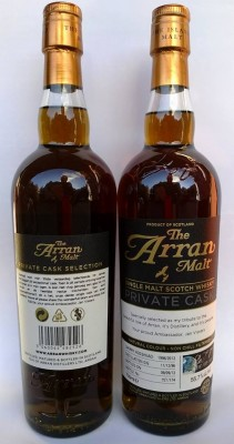 Arran 16 YO 1996/2013, 55.7%, OB, Private Cask for Jan Vissers